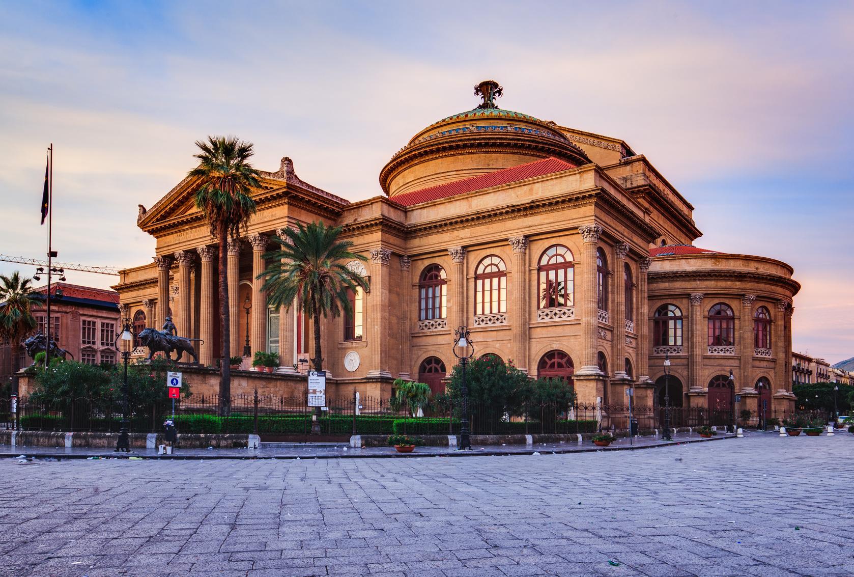 Palermo, Teatro Massimo